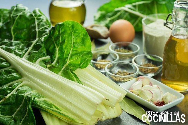 Pencas d eacelga en escabeche (ingredientes)