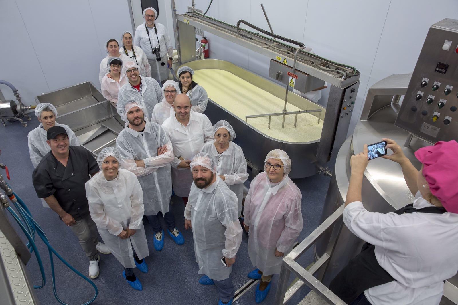 Visita a la quesería Larra