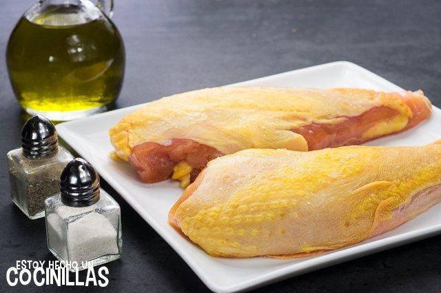 Pechuga de pollo a la plancha (ingredientes)