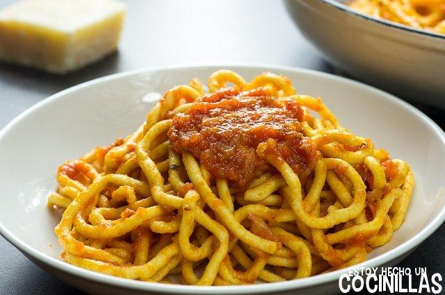 Salsa marinara (espaguetis)