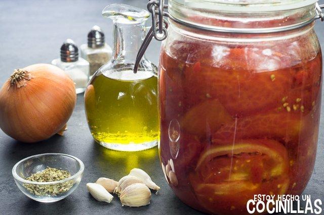 Salsa marinara (ingredientes)
