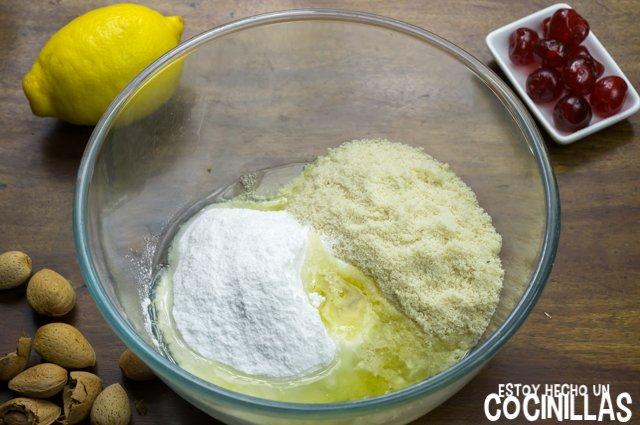 Panellets de cereza (mezclar)