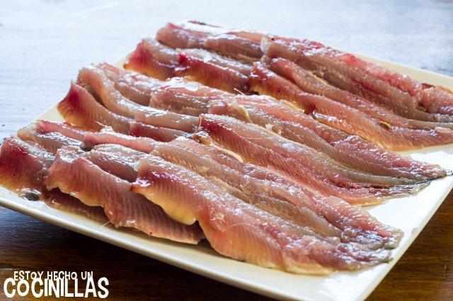 Sardinas a la moruna (filetes de sardina)