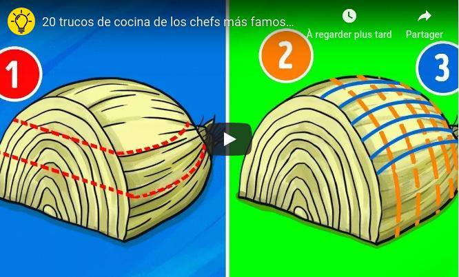 20 trucos de cocina de los chefs más famosos del mundo