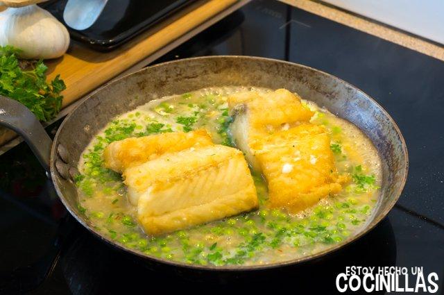 Bacalao en salsa verde (cocer)