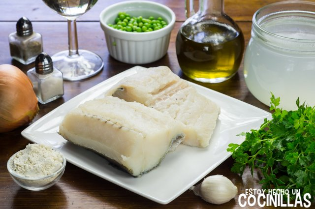 Bacalao en salsa verde (ingredientes)