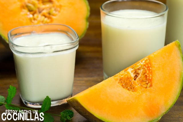 Batido de melón (ingredientes)
