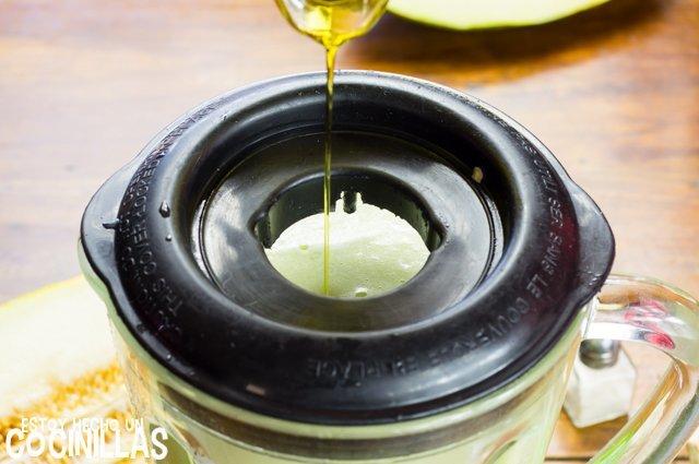 Garpzacho de melón (aceite de oliva)