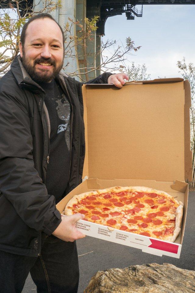Pizza americana de pepperoni (Brooklyn)