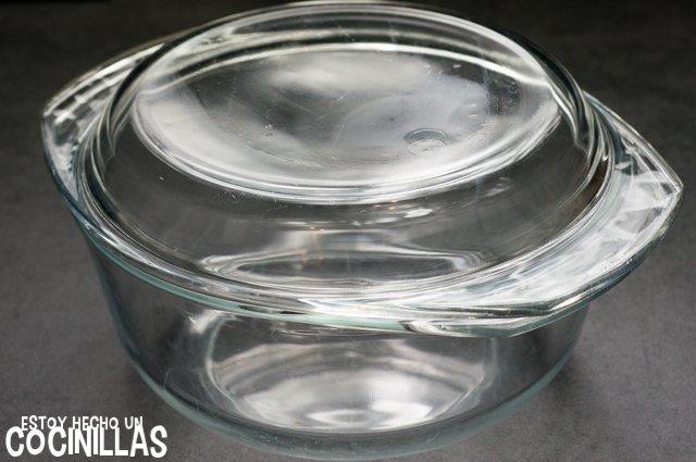 Tortilla de patatas al microondas (recipiente)