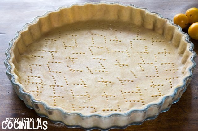Tarta de mirabeles (molde)