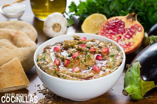 Baba ganoush (paté de berenjena árabe)