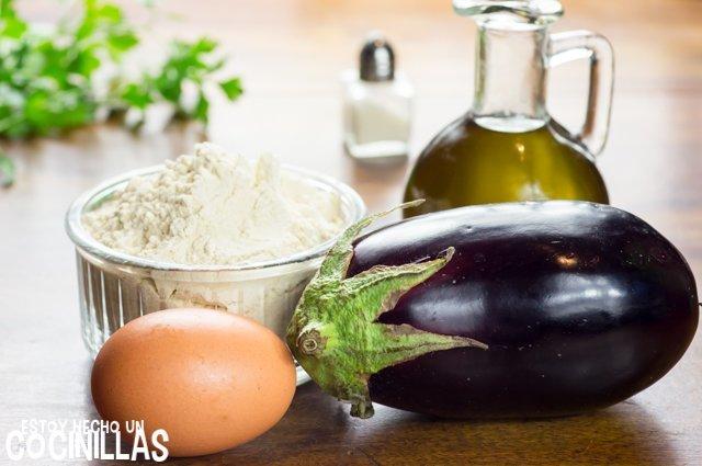 Berenjenas rebozadas (ingredientes)
