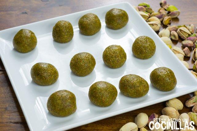 Panellets de pistacho (bolas)