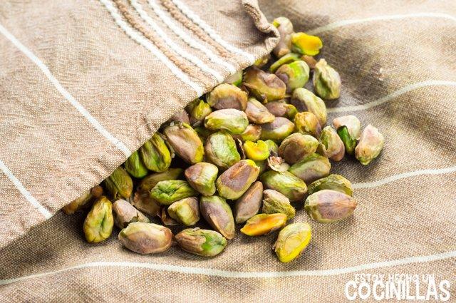 Panellets de pistacho (pelar)