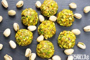 Panellets de pistacho (receta)