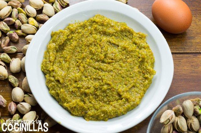 Panellets de pistacho (reposo)