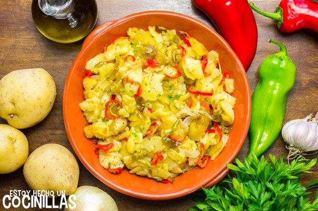Patatas a lo pobre (receta)