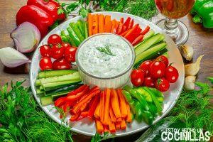 Salsa de yogur a las finas hierbas