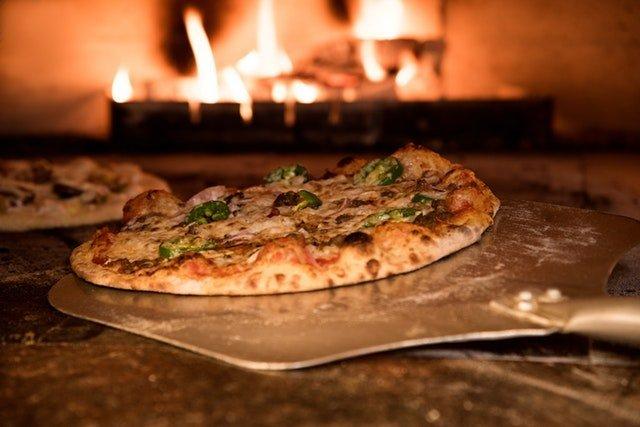 Horno de piedra para pizza