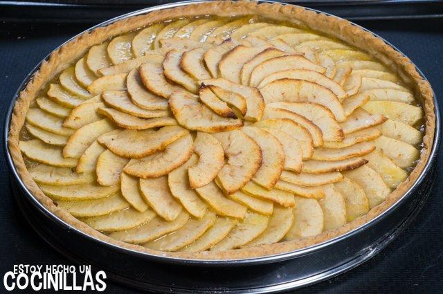 Tarta de manzana con masa quebrada (reposo)