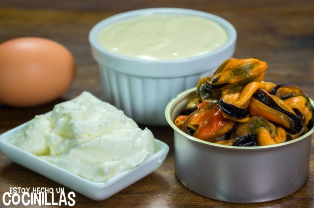 Paté de mejillones (ingredientes)