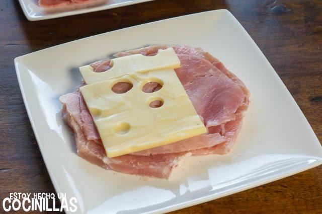 Libritos de lomo (queso)
