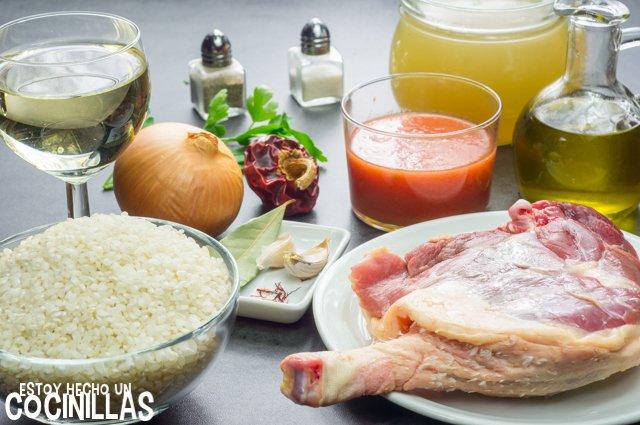 Arroz con pato (ingredientes)