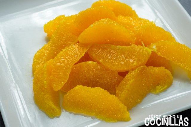 Ensalada malagueña (naranja)