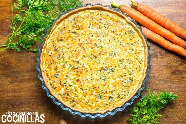 Receta de quiche de zanahoria