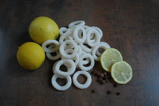 Calamares en salsa americana (anillas)