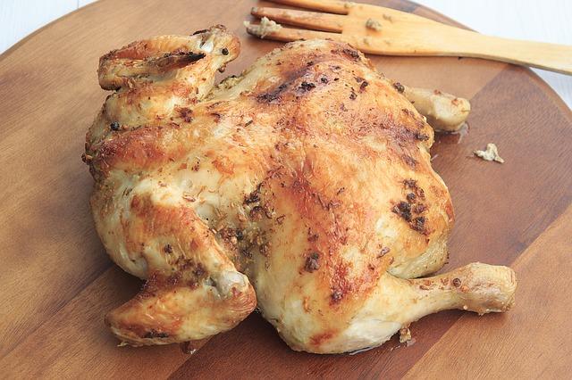 Recetas con pollo al horno