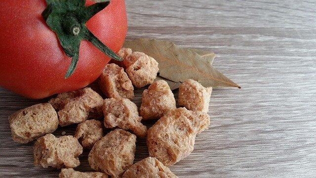 Soja texturizada para la boloñesa de soja