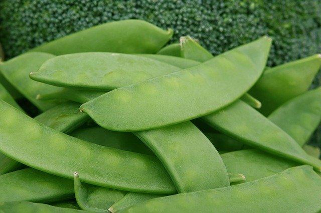 Tirabeques y brocolis