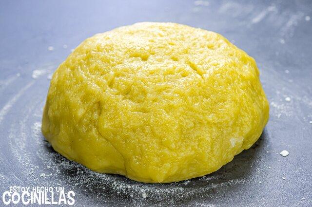 Empanadillas de pollo caseras (masa de empanadillas)