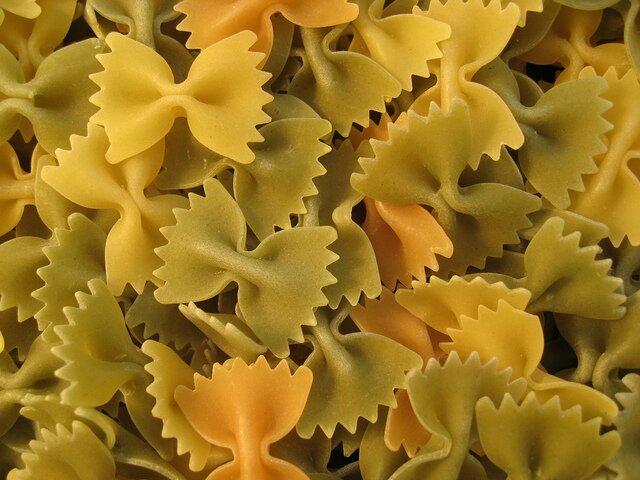 Ensalada de pasta espirales (lacitos)
