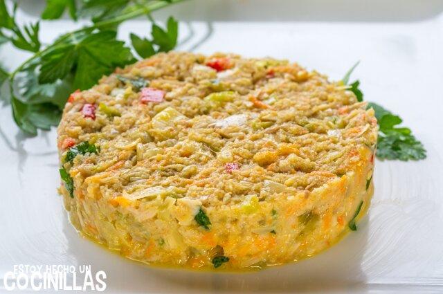 Hamburguesas de atún y verduras (ingredientes)