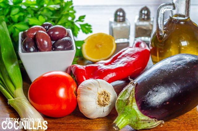 Melitzanosalata (ingredientes)