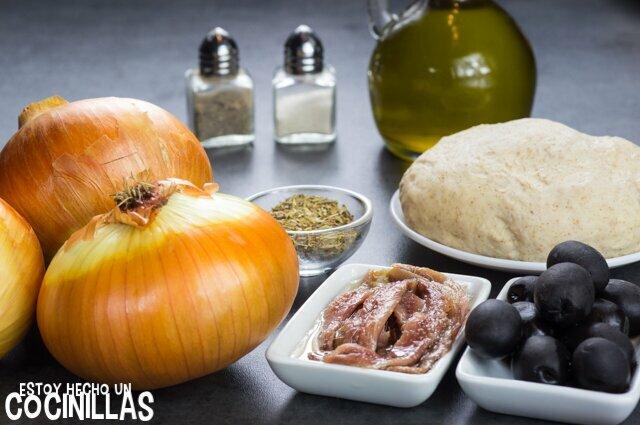 Pissaladière (ingredientes)