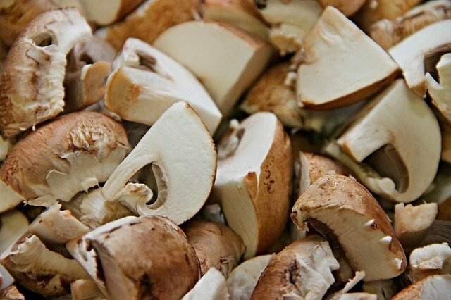 Arroz con pollo y champiñones (ingredientes)