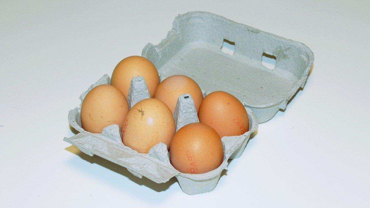 Huevos rotos con chistorra (ingredientes)