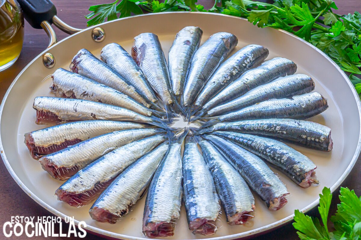 Sardinas fritas (ingredientes)
