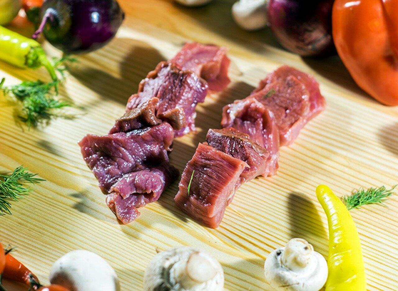 Carne de cabrito para caldereta