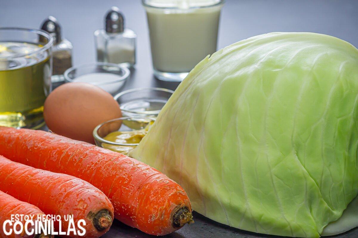 Ensalada de col americana o coleslaw (ingredientes)