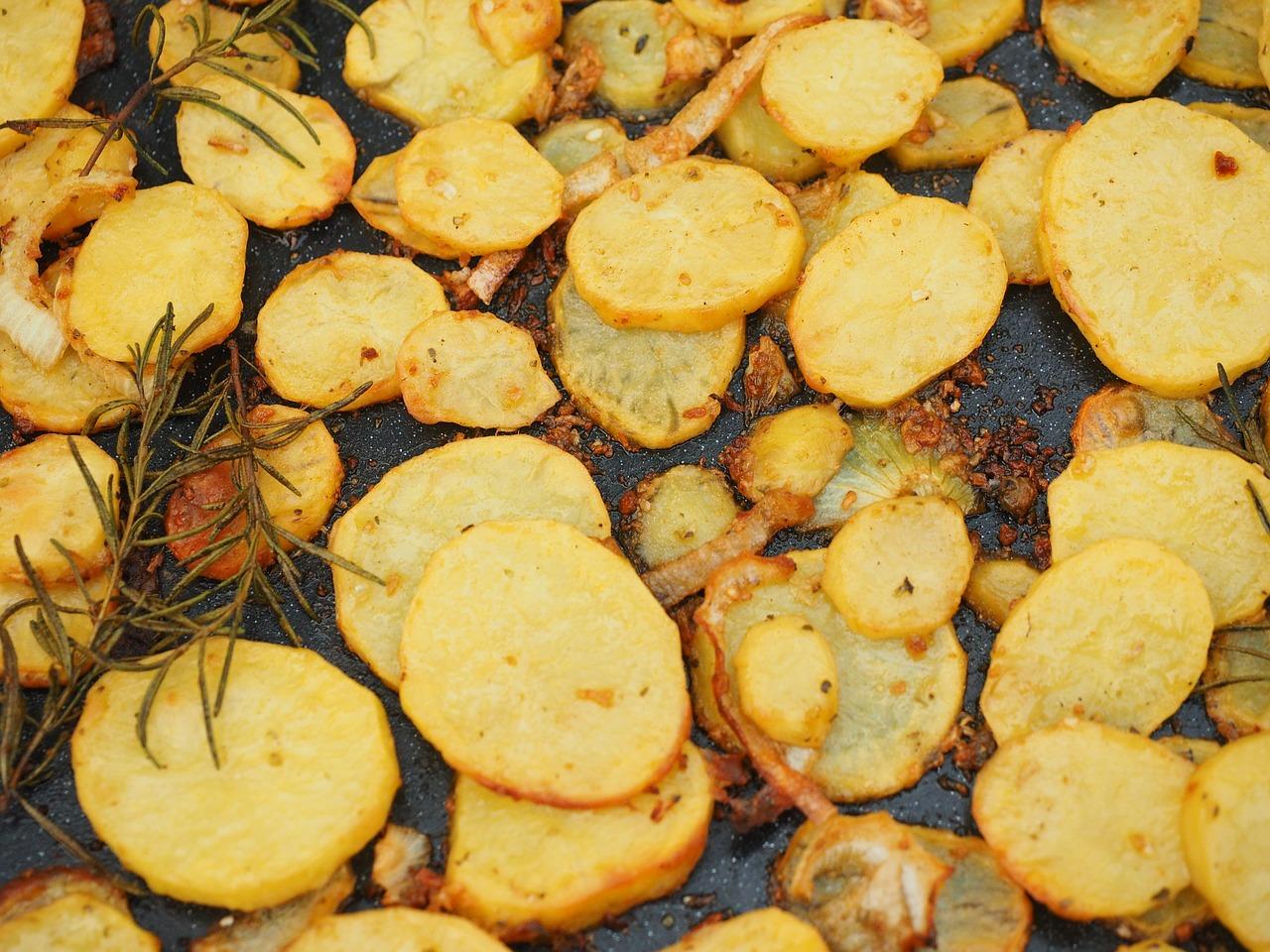 Patatas en el horno