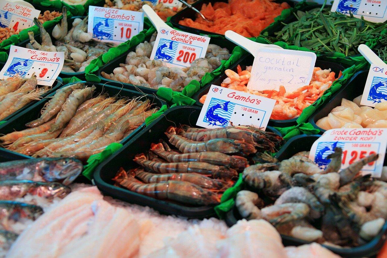 Mercado de marisco