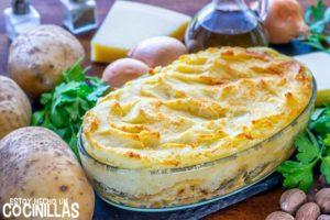Pastel de pescado y patata (parmentier de pescado)