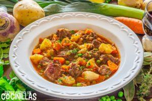 Ragout de pavo con patatas y verduras