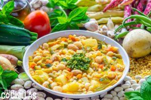 Soupe au pistou (sopa de verduras francesa)