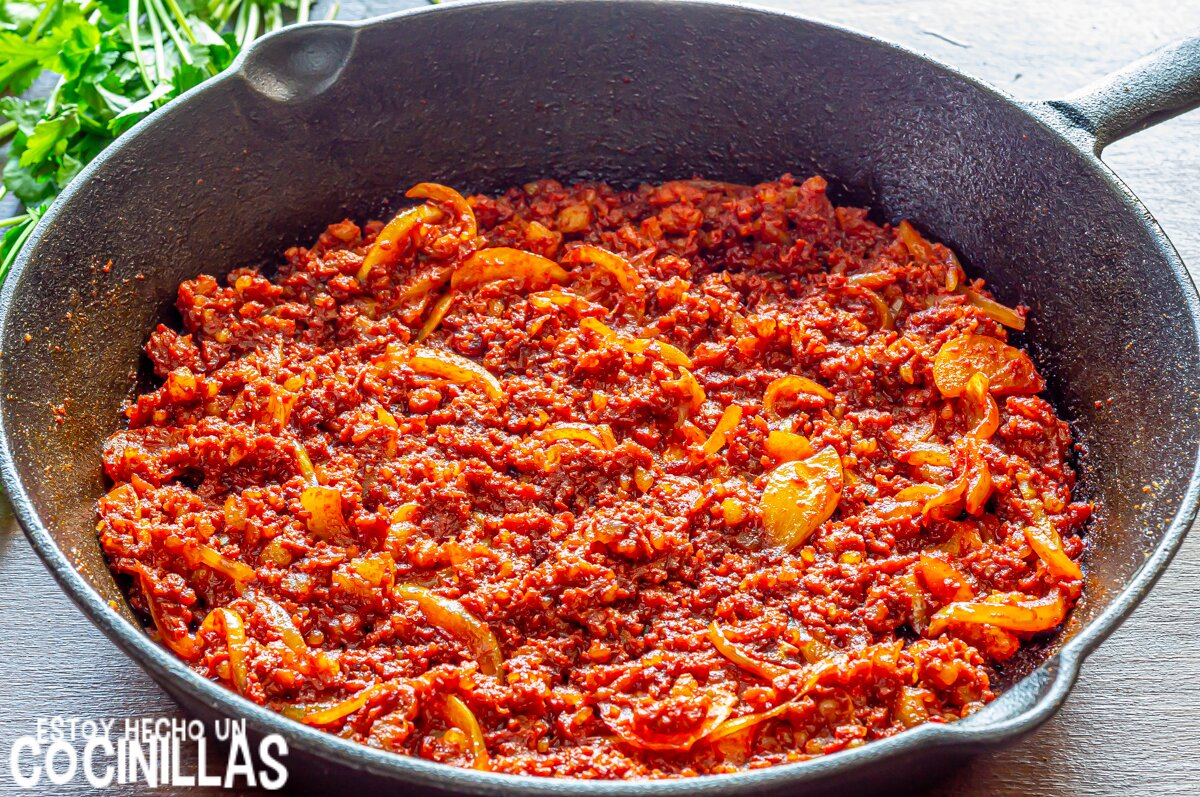Chorizo para tacos